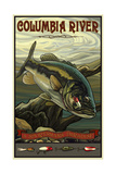 Columbia River Oregon Bass Fishing Pal 833 Photographic Print by Paul A Lanquist