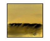 Dune Shadows A A 10 Photographic Print by Diane Strain