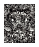 Oxen Apparrition Photographic Print by Grim Wilkins