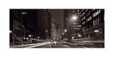 Michigan Avenue Chicago BW Photographic Print by Steve Gadomski