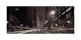 Michigan Avenue Chicago BW Photographic Print by Steve Gadomski