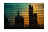 333 Wacker Reflecting Chicago Photographic Print by Steve Gadomski