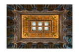 Great Hall Ceiling Library Of Congress Photographic Print by Steve Gadomski
