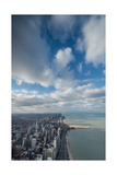 Chicago Aloft Photographic Print by Steve Gadomski