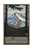 Mount Hood Oregon Pal 007 Photographic Print by Paul A Lanquist