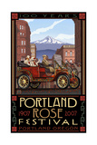 Portland Oregon Rose Festival Pal 704 Photographic Print by Paul A Lanquist