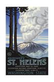 Mount St Helens Eruption Pal 006 Fotodruck von Paul A Lanquist