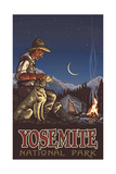 Yosemite National Park CAD Camper Photographic Print by Paul A Lanquist