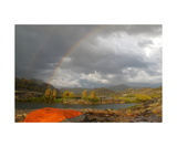 Double Rainbow,Clearing Storm,Thousand Island Lake Photographic Print by Ronald A Dahlquist