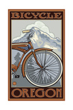 Bicycle Oregon Pal 039 Photographic Print by Paul A Lanquist