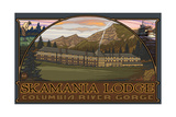 Skamania Lodge Photographic Print by Paul A Lanquist