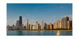 Lakeshore Chicago Skyline Photographic Print by Steve Gadomski