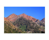 Tulare Peak Above Mineral King Valley Photographic Print by Ronald A Dahlquist