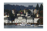 Lucerne Lakeshore Scenic Photographic Print by George Oze