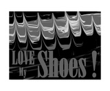 Love My Shoes! Number 6 Photographic Print by Diane Strain