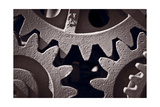 Gears Number 2 Photographic Print by Steve Gadomski