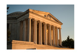Jefferson Memorial Sunset Photographic Print by Steve Gadomski