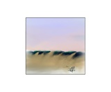 Dune Shadows A 43 Photographic Print by Diane Strain