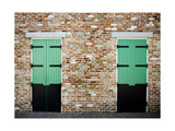 Lafittes Doors Photographic Print by John Gusky