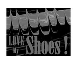 Love My Shoes! Number 8 Photographic Print by Diane Strain