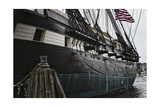 United States Ship Constellation Photographic Print by George Oze