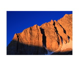 Cliff Detail On North Peak Photographic Print by Ronald A Dahlquist