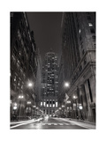 Chicago Board of Trade B W Photographic Print by Steve Gadomski