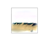 Dune Shadows A 44 Photographic Print by Diane Strain
