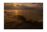 Lake Michigan Sunset Photographic Print by Steve Gadomski