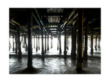 Santa Monica Pier 2 Photographic Print by John Gusky