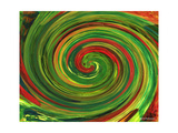 Spiralicious Photographic Print by Herb Dickinson