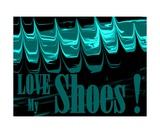 Love My Shoes! Number 12 Photographic Print by Diane Strain