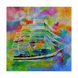Sailboat Photographic Print by  Ledent