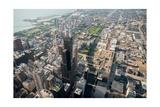 Willis Tower Southwest Chicago Aloft Photographic Print by Steve Gadomski