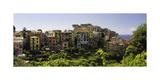 Corniglia Panorama, Cinque Terre, Liguria, Italy Photographic Print by George Oze