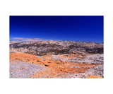 View Northeast From Red Peak Pass Photographic Print by Ronald A Dahlquist