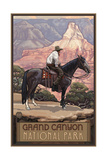Grand Canyon Cowboy Pal 378 Photographic Print by Paul A Lanquist