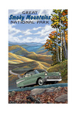 Great Smoky Mountains National Park Chevy Print by Paul A Lanquist