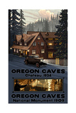 Oregon Caves Chateau and National Monument 1324 Photographic Print by Paul A Lanquist