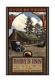 Rubys Inn Bryce Canyon Photographic Print by Paul A Lanquist