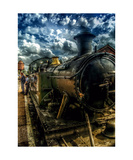 Steam Train Photographic Print by J A Evans