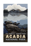 The Bubbles in Acadia National Park Pal 1647 Prints by Paul A Lanquist