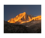 Bear Creek Spire At Sunrise Photographic Print by Ronald A Dahlquist