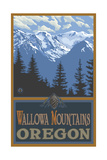 Wallowa Mountains Oregon Pal 280 Photographic Print by Paul A Lanquist