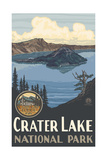 Crater Lake National Park Oregon Pal 1144 Photographic Print by Paul A Lanquist