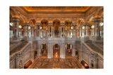 Library Of Congress Photographic Print by Steve Gadomski