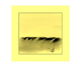 Dune Shadows A 46 Photographic Print by Diane Strain