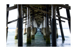 Newport Beach Pier Photographic Print by John Gusky