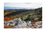 Best View from the Cadillac Mountain Photographic Print by George Oze