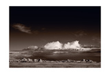 Storm Over Badlands Photographic Print by Steve Gadomski